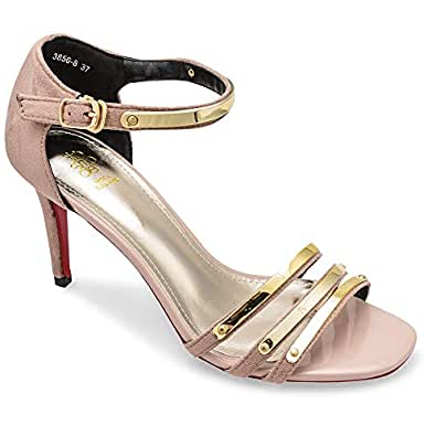 tresmode Women's Pink Fashion Sandals