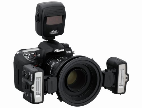 Nikon R1C1 Makroblitz-Kit (inklusive SU-800, 2X SB-R200 und Zubehörpaket)