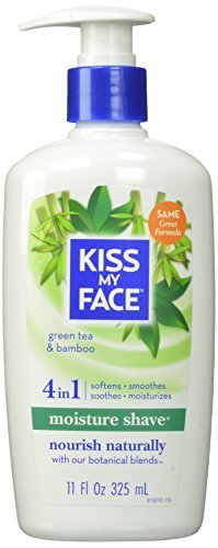 kiss-my-face-moisture-shave-natural-shaving-cream-green-tea-bamboo-shaving-soap-11-ounce-by-kiss-my-