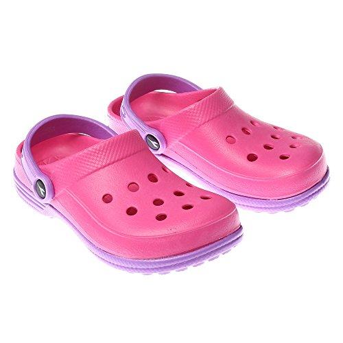 Diadora Pantolette Coral 2Junior pink/lila, rosa (Set Junior Lila)