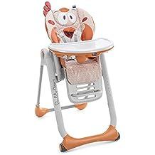 Chicco Polly 2 Star - Trona/hamaca divertida y compacta, 4 ruedas, para niños de 0 a 3 años, diseño animales