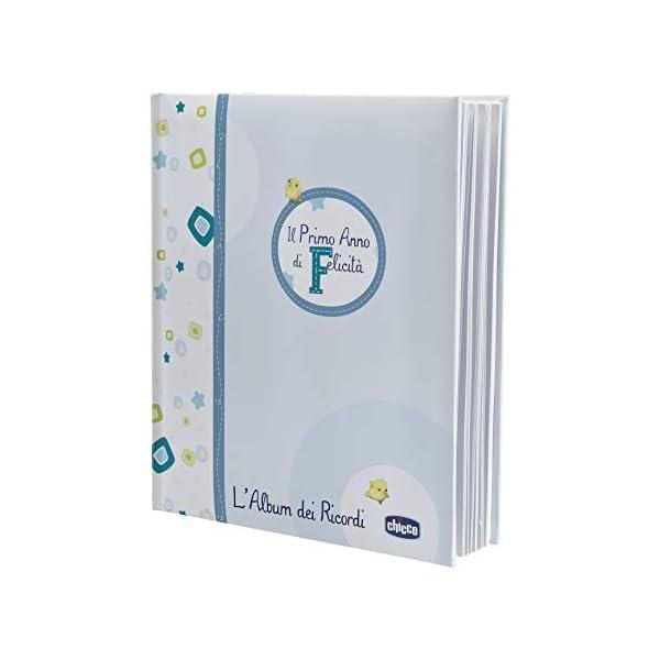 Chicco 00002310200000 Album dei Ricordi, Libro Nascita, Azzurro 1 spesavip