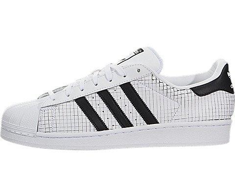 Adidas Mens Superstar Originals Ftwwht/Cblack/Cblack Casual Shoe 11 Men US