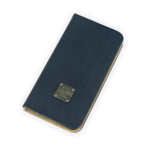 QIOTTI QP-B-0100-03-IP6 Book Slim Carrier für Apple iPhone 6 in Magic blau Slim Carrier