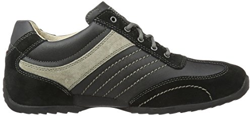 Camel Active Space 12, Sneakers Basses Homme Noir (Black/grey 32)
