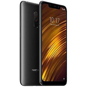 """Xiaomi Pocophone F1 - Smartphone Dual SIM de 6.18"""" , 64GB, Negro (Graphite Black)- [Versión importada]"""