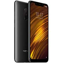 POCOPHONE F1 by Xiaomi - 6GB RAM and 128GB Storage (Dual Sim) - UK Sim-Free Smartphone - 6.18-Inch Android 8.1 Oreo with - Graphite Black (Official UK Launch)