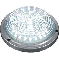 Light Green: fanalino LED tettuccio a design prismatico per camion, trattori, rimorchi, autobus, pullman, caravan 12v -