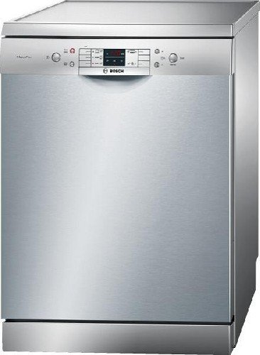 Bosch SMS53L18EU Autonome 12places A++ lave-vaisselle - Lave-vaisselles (Autonome, Gris, boutons, Acier inoxydable, 12 places, 46 dB)