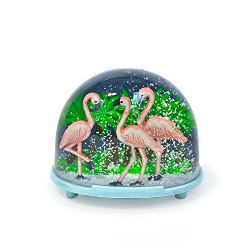 FANMEX - Fantastik - Boule à neige kitsch (Flamand rose)