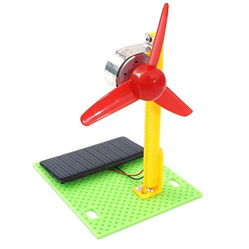 Auto-Modell Plüsch Bildung Squishy Spielzeug aufblasbares Spielzeug im Freien Spielzeug,Solar Fan Modell DIY Holz Solar Fan Modellbau Montage Kinder Spielzeug