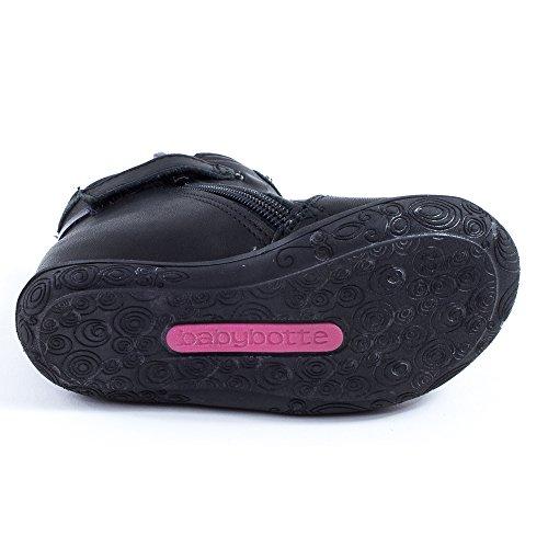 Bottines Babybotte AMANDINE noir Noir