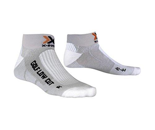 X-Socks chaussettes de golf low-cut funktionssocken pour adulte Multicolore gris 39/41