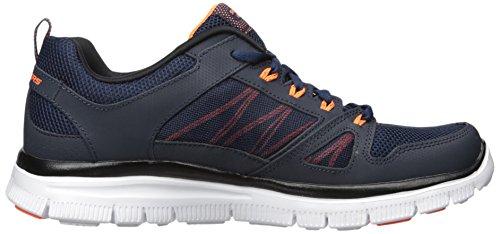 Sneaker Blu Di Skechers Da Uomo (blu Navy / Orng)