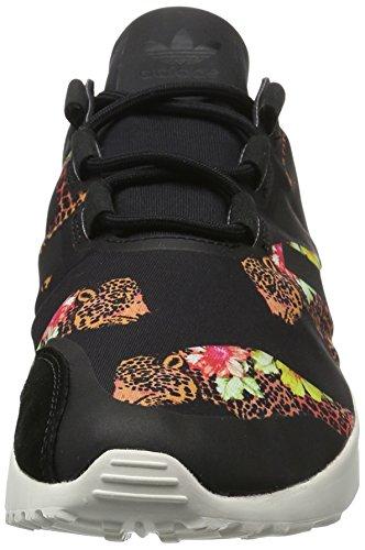 adidas Damen Zx Flux Adv Verve Sneakers Mehrfarbig (Core Black/Core White/Core Black)