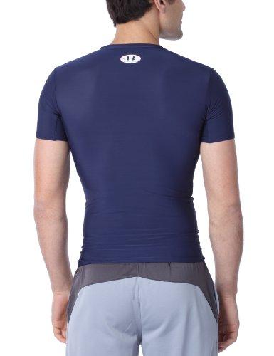 Under Armour Herren T-Shirt HG Compression Full navy