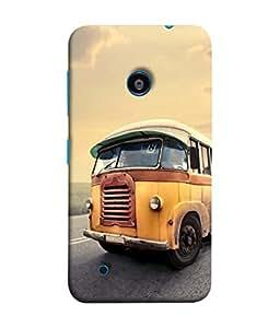 PrintVisa Public Transport 3D Hard Polycarbonate Designer Back Case Cover for Nokia Lumia 530 :: Nokia Lumia 530 RM 1017 :: Nokia Lumia 530 Dual SIM :: Microsoft Lumia 530 Dual