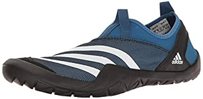 Adidas Outdoor Men's Climacool Jawpaw Slip-on Water Shoe, Core Blue/White/Black, 14 M US