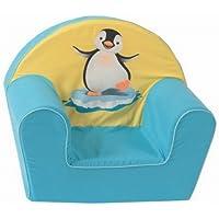 knorr-baby 490181 Kindersessel Pinguin, gelb-blau preisvergleich bei kinderzimmerdekopreise.eu