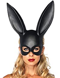 Leg Avenue - Masquerade Rabbit Mask - Color : Negro