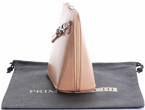In pelle italiana, Small/Micro croce corpo borsa o borsetta borsa a tracolla.Include una custodia protettiva di marca. Nudo