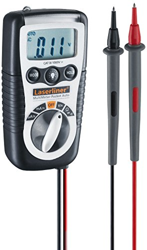 Laserliner Präzise Prüfung in den Bereichen Spannung, Strom und Widerstand