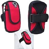 Supercase24 Sport Armband für UMi Iron Handy Hülle Tasche Schutzhülle Case Fitness Armtasche