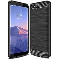 Bainuojia für Redmi 6A Hülle, handyhülle für Xiaomi Redmi 6A Schutzhülle Premium Weiche Silikon Carbon Faser Elastisch... preisvergleich bei billige-tabletten.eu