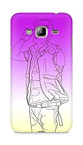 Amez designer printed 3d premium high quality back case cover for Samsung Galaxy J3 (2016 EDITION) (Romeo big bang taeyang lollipop)