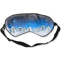 Schlafmaske für Weihnachten, Naturseide, mit verstellbarem Riemen preisvergleich bei billige-tabletten.eu
