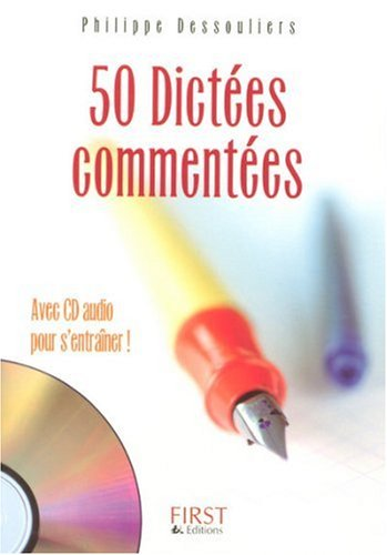 50 DICTEES COMMENTEES + CD OFF