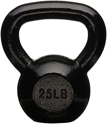 AmazonBasics Enamel Kettlebell, 11.33 kg (10 pounds)