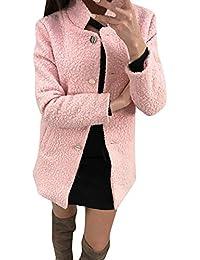 a4aca08f9bf9 CLOOM-Cappotto Cardigan Donna Donna Elegante Cardigan Giacca Invernale  Maglione Cappotto Donna Pelliccia Sweater Cappotto