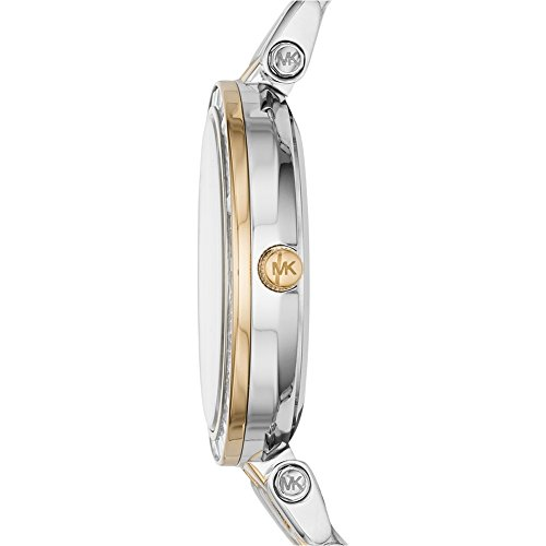 Michael Kors Women's Quartz Watch with Multicolour Dial Analogue Display and Multicolour Stainless Steel Strap MK3405