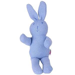 Minene Knitted Doll Rabbit (Blue)