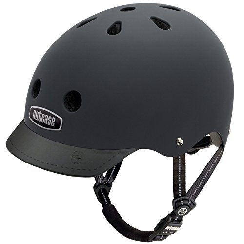 Nutcase Gen3 Bike und Skate Helm, Blackish matt, M, NTG3-3000M