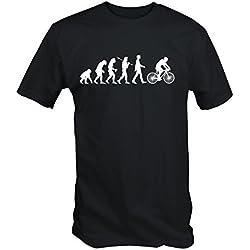 6TN Hombre Evolution de Ciclismo Camiseta de Manga Corta - Negro, X-Large