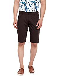 Canary London Brown Narrow Fit Short