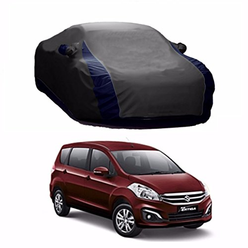 MotRoX Lively Water Resistant Car Body Cover For Maruti Suzuki Ertiga (Grey & Blue - V Shape)  available at amazon for Rs.1169