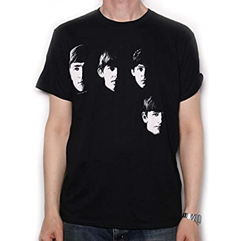 The Beatles T-Shirt - With The Beatles Official Faces - Beatles Faces