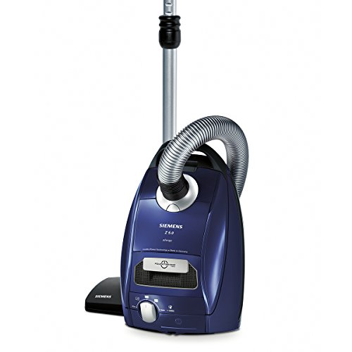 Siemens VSZ5SEN2 Bodenstaubsauger Z5.0 powerSensor Technology EEK A (quattroPower Technology, 4,5 L Staubbeutelvolumen, waschbarer Hochleistungs-Hygienefilter) moonlight blue