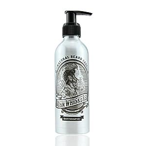 John Whiskers Bartshampoo – Made in Germany – 2in1 Bartseife mit erfrischendem Duft – für einen geschmeidigen und reinen Bart