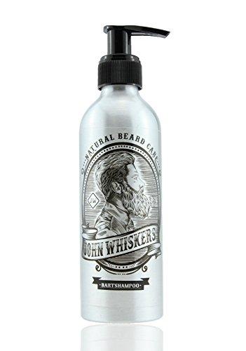John Whiskers Bartshampoo - Made in Germany – 2in1 Bartseife mit unvergleichbarem Duft – ohne Silikone - für einen geschmeidigen und reinen Bart