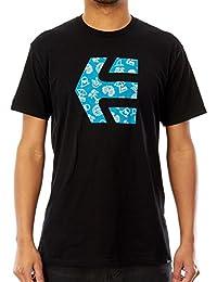 Tee shirt Etnies Icon Fill Noir