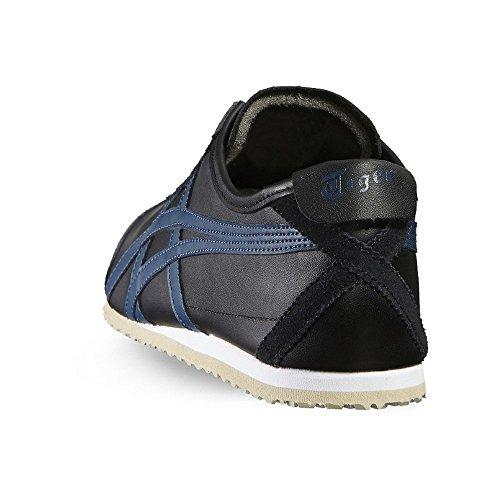 Asics Schuhe Mexico 66 Unisex black-poseidon (D4J2L-9058)