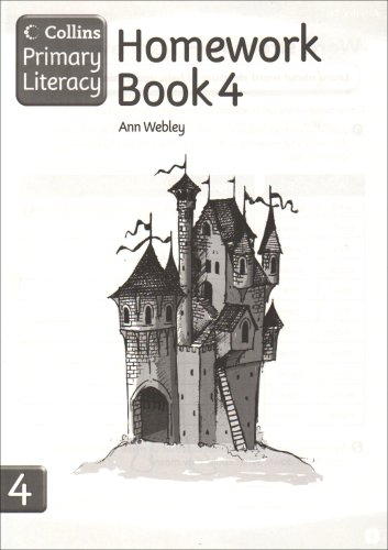 Collins Primary Literacy – Homework Book 4: Homework Book Bk. 4