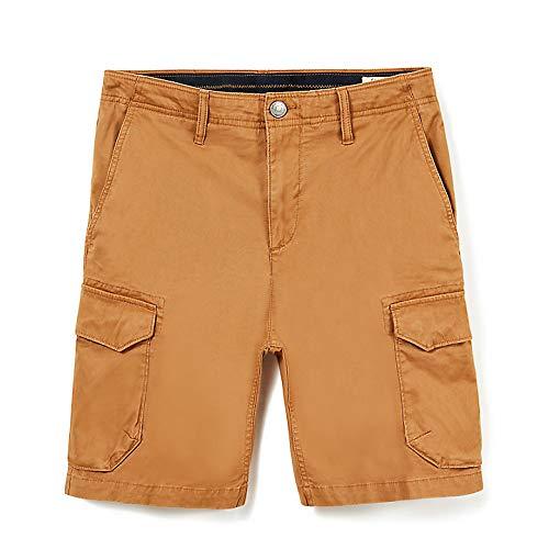 Timberland-herren-shorts (Timberland Squam Lake Cargo Shorts 36 inch Wheat)