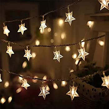 Satyam Kraft 3 Meter 20 Star String Lights for Indoor Outdoor Decoration  Diwali Light for Party Birthday Diwali Christmas Navratri Valentine Gift  Home