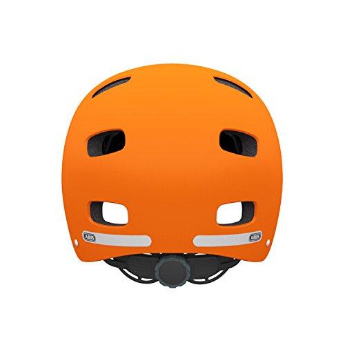 Abus Erwachsene Fahrradhelm Scraper v.2, signale orange, 58-63 cm, 12738-0 - 3