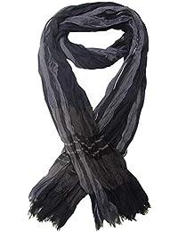 Générique Chèche, foulard écharpe bleu et gris ... 2313a6adb68